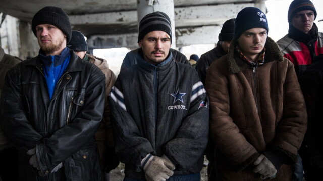 Apocalipsa din estul Ucrainei. Peisajul dezolant din Donetk aduce aminte de sfarsitul celui de-Al Doilea Razboi Mondial. FOTO - Imaginea 4