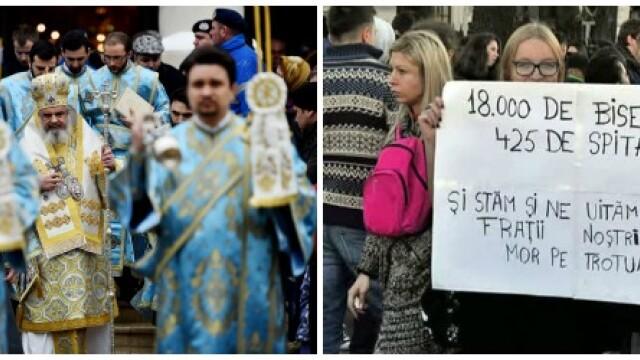 Pentru prima data dupa Revolutie, increderea in Biserica a scazut sub 60%. Ce i-a deranjat cel mai mult pe romani