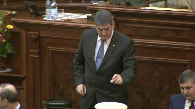Gabriel Oprea si-a votat ridicarea imunitatii