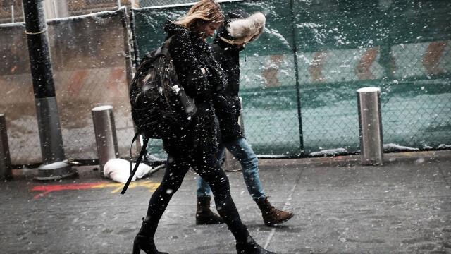 Alerta de frig extrem la New York. Locuitorii au fost avertizati ca temperaturile vor scadea pana la -30 de grade in weekend