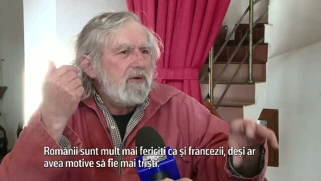 Ajuns la pensie, un francez a decis sa se mute in Romania. Ce le raspunde Joell celor care-l intreaba de ce a facut asta