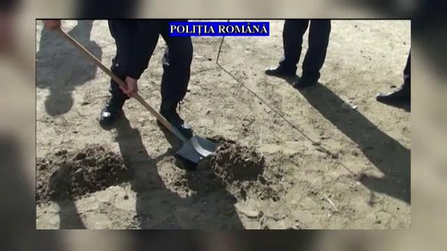 Ce au descoperit politistii din Prahova cand au sapat intr-o parcare. Doi oameni de afaceri au fost arestati imediat