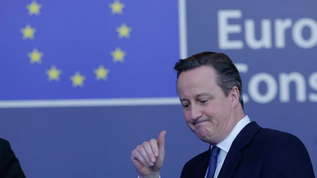 David Cameron: Cei care vor vota sa paraseasca UE vor face o mare greseala, care va afecta Marea Britanie aproape un deceniu