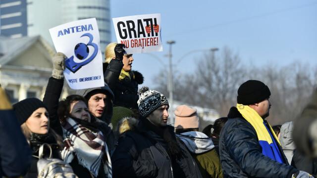 proteste Bucuresti - Agerpres