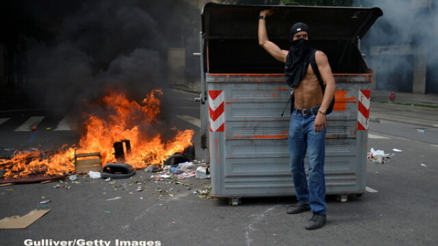 Haos si anarhie in Brazilia. Infractorii si criminalii fac prapad pe strazi, dupa ce politia a intrat in greva. GALERIE FOTO - Imaginea 3