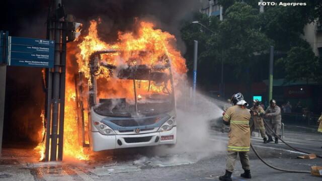 Haos si anarhie in Brazilia. Infractorii si criminalii fac prapad pe strazi, dupa ce politia a intrat in greva. GALERIE FOTO - Imaginea 8
