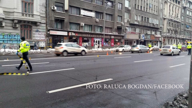 accident Piata Romana