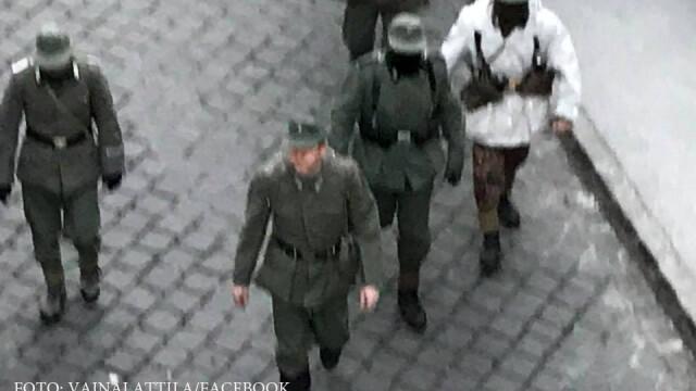 Budapesta, uniforme naziste