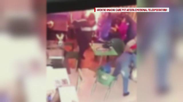 Barbatul care si-a incendiat sotia intr-un fast-food din Buhusi s-a predat la Politie. De ce a comis gestul socant