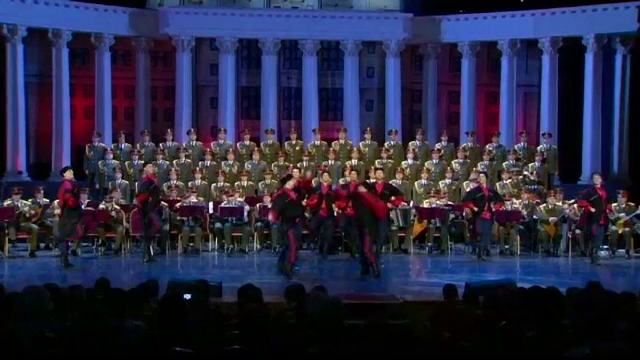 Corul Armatei Rosii, primul concert dupa accidentul aviatic in care au murit 64 de membri, la Moscova