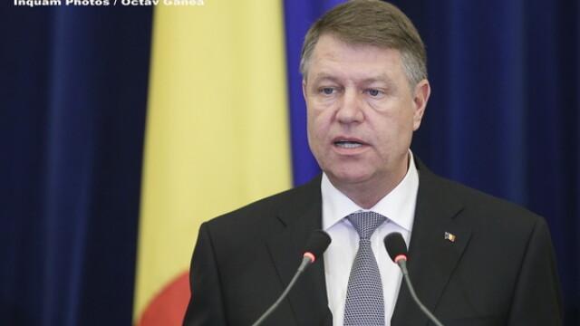 Surse: Presedintele Klaus Iohannis a renuntat, temporar, la organizarea unui referendum pe tema justitiei