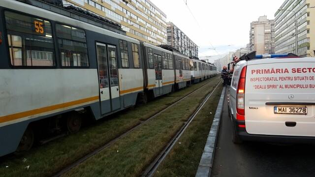 Prinsă sub tramvai, Pantelimon
