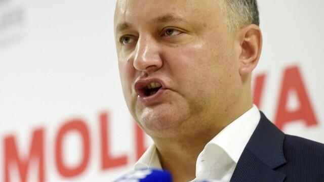 Preşedintele pro-rus al Moldovei: \