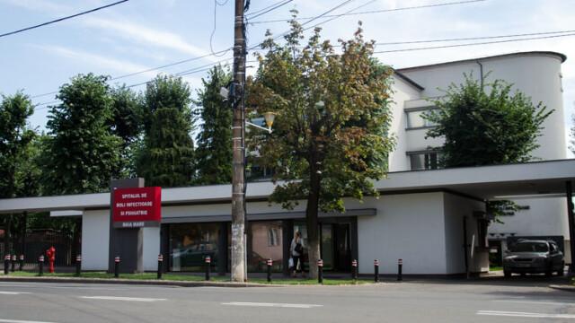 Incendiu la Spitalul de Boli Infecțioase din Baia Mare