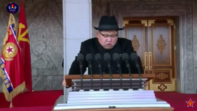 Kim Jong-un, Coreea de Nord, parada,