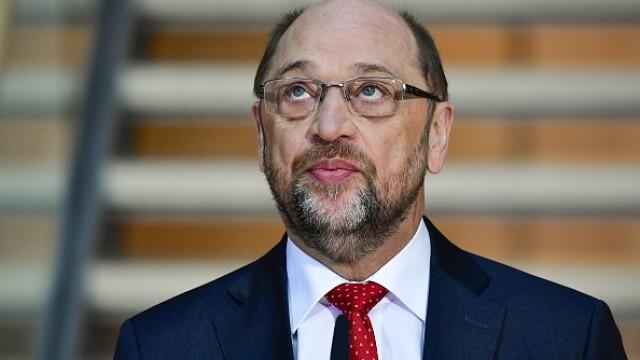 Schulz refuză să devină ministru în noul guvern: \