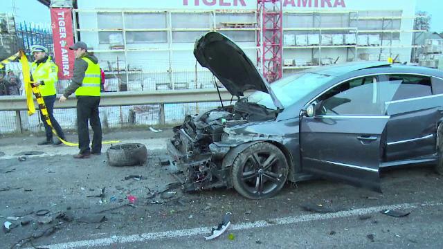 """Cele patru """"șosele ale morții"""" din România: 896 de accidente, 1100 de victime"""