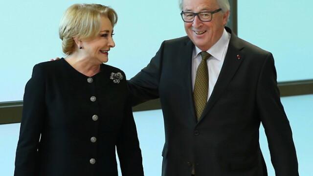 Președintele Comisiei Europene a răspuns scrisorii premierului Dăncilă. Ce spune Juncker