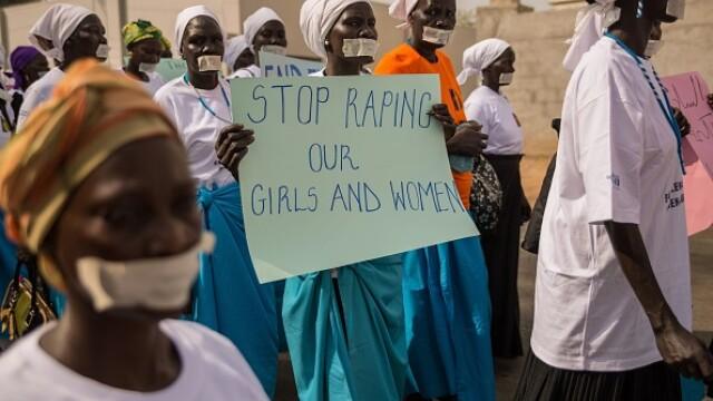 Raport ONU: Copiii din Sudanul de Sud, obligați să-și vadă mamele violate