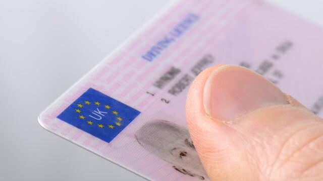 permis de conducere UK