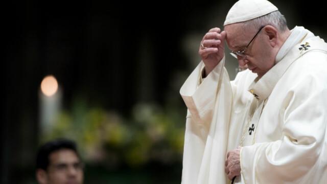 """Papa Francisc, noi măsuri împotriva abuzurilor sexuale: """"Avem nevoie de o transformare"""""""