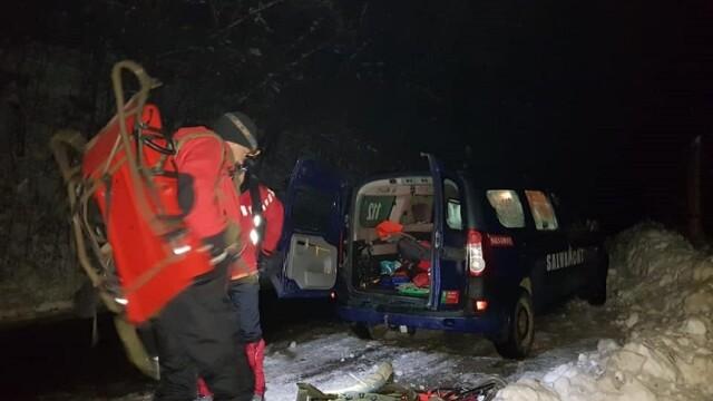 Persoane surprinse de avalanşă în munţii Călimani. Operațiune de salvare