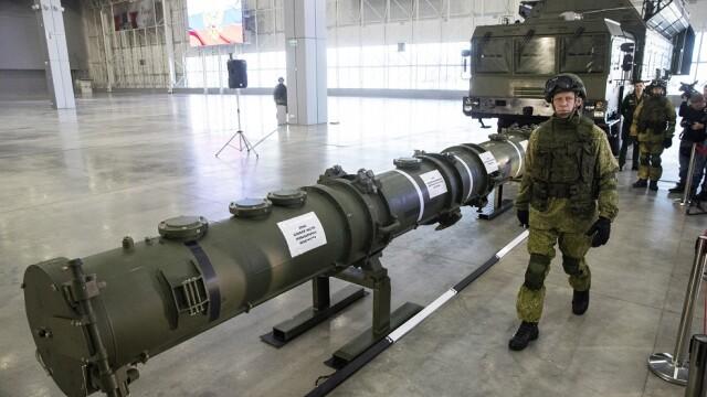 Avertismentul şefului NATO: Rusia continuă să se înarmeze cu rachete nucleare