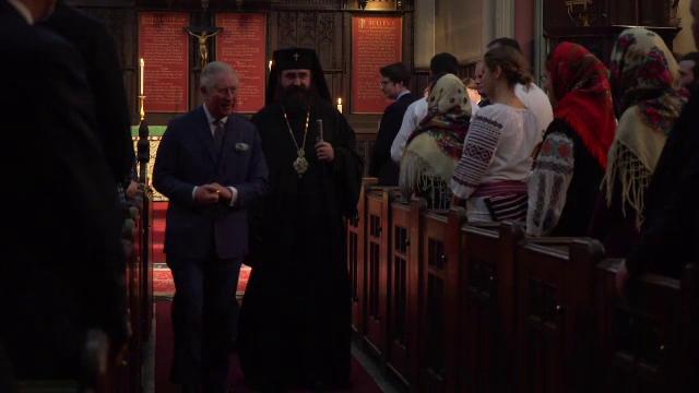 Prințul Charles, la o slujbă ortodoxă în Londra alături de 200 de români