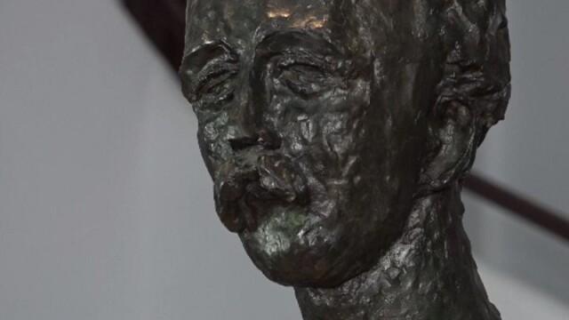 Operă a lui Brâncuși, expusă la 25 de ani după ce a fost furată dintr-un cimitir