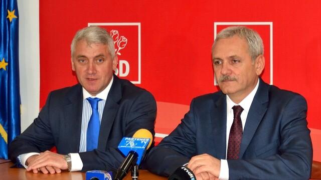 Adrian Tutuianu si presedintele PSD, Liviu Dragnea