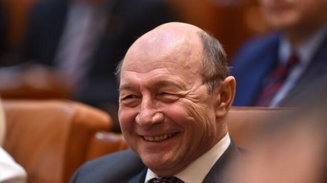 Senatorul Traian Basescu