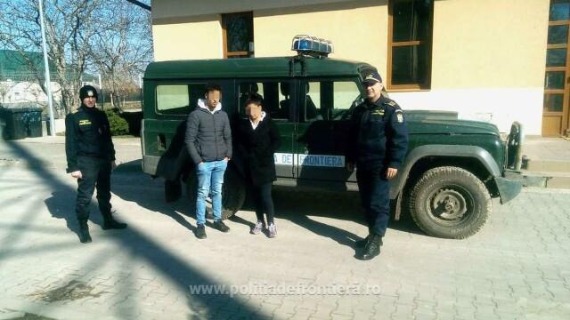 Un marocan și o tânără din România, depistați în timp ce încercau să intre fraudulos în țară