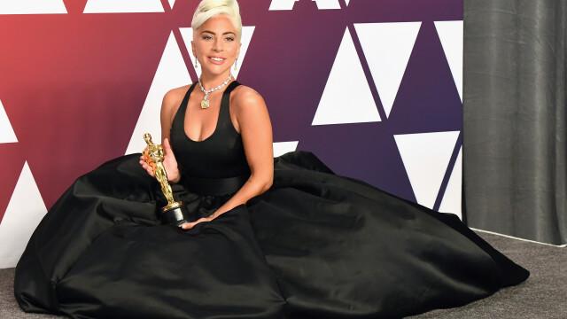 Lady Gaga, copleșită de emoții după ce a câștigat Oscarul
