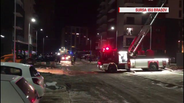 Un bloc din Brașov, la un pas de explozie. 60 de persoane, evacuate de urgență