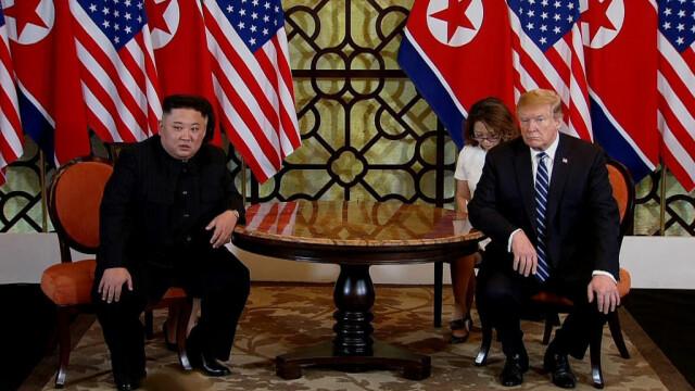 Moment istoric: Kim Jong-un răspunde întrebării unui jurnalist străin, apoi Trump îl laudă