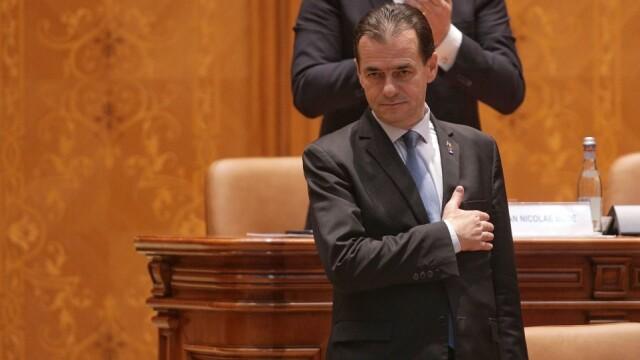 Guvernul Orban a fost votat de Parlament. Măsuri speciale la ceremonia de învestitură - Imaginea 1