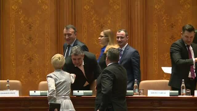 Moțiunea de cenzură scrisă de PSD ar putea fi votată miercuri