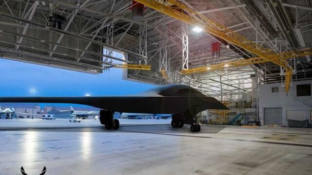 GALERIE FOTO. Cum arată noul bombardier al Forțelor Aeriene ale SUA - Imaginea 3