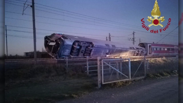 Un tren de mare viteză a deraiat în Italia. Doi morți și zeci de răniți - Imaginea 2