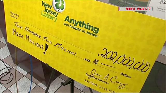 Un american a câștigat 200 de milioane $, dar nu și-a ridicat premiul. Cât va mai primi