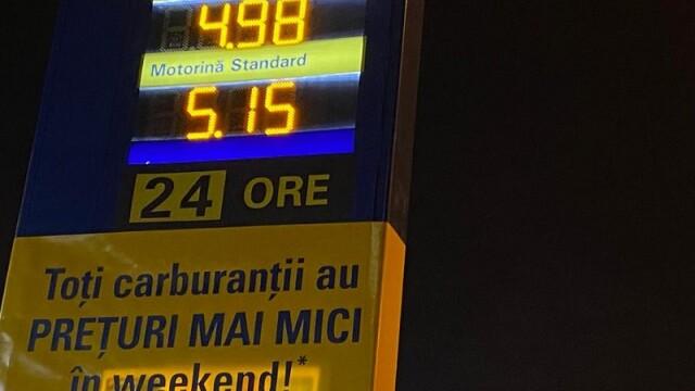 Benzina a ajuns la cel mai mic preţ din ultimii 2 ani, în România
