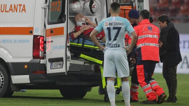 Dinamo - FCSB, scor 2-1. Meciul a fost oprit de două ori, un jucător a ajuns la spital - Imaginea 1