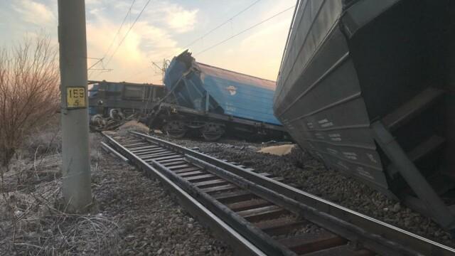 Tren deraiat în judeţul Olt. Mai multe curse au fost anulate sau au întârzieri uriaşe - Imaginea 2