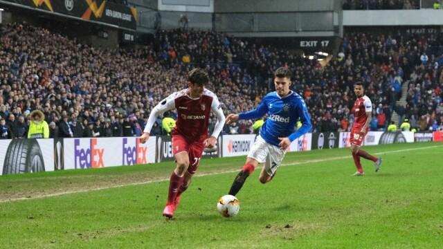 Ianis Hagi, eroul meciului Glasgow Rangers - Sporting Braga - 3