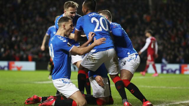 Ianis Hagi, eroul meciului Glasgow Rangers - Sporting Braga - 5