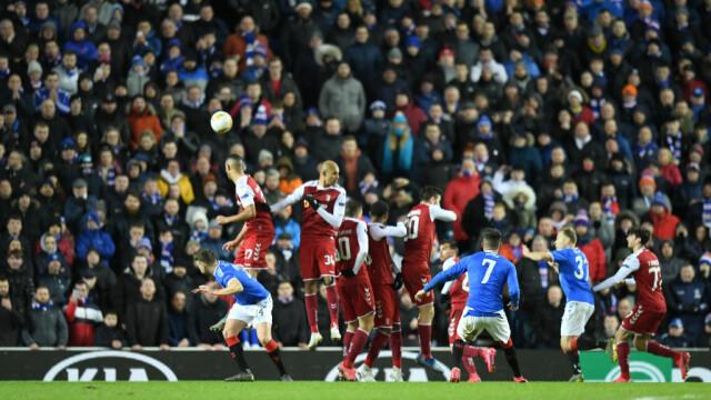 Ianis Hagi, eroul meciului Glasgow Rangers - Sporting Braga - 9