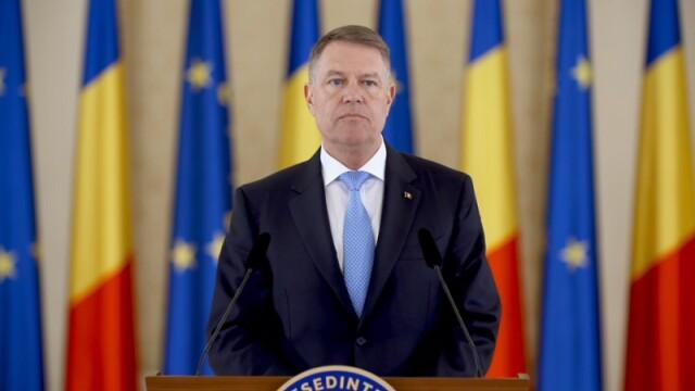 Klaus Iohannis, la Cotroceni
