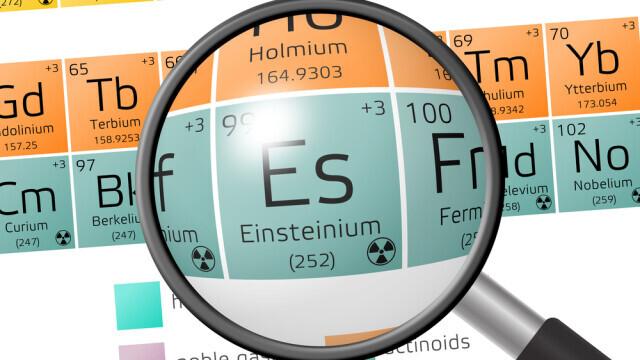 Savanții au reuşit să creeze einsteiniu, un element care nu există în mod natural pe Pământ