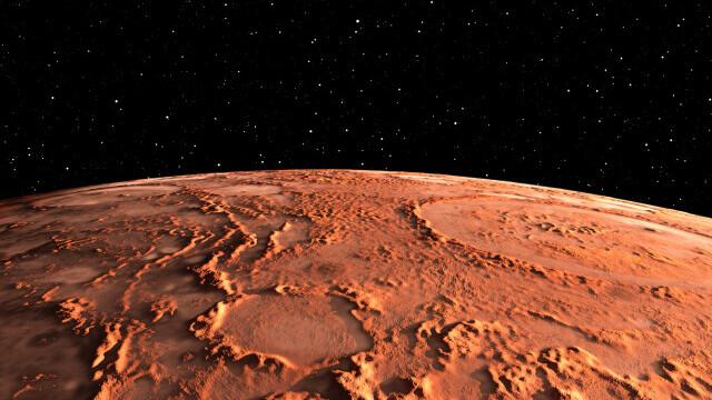 Descoperire inedită. O sondă NASA a determinat structura internă a planetei Marte