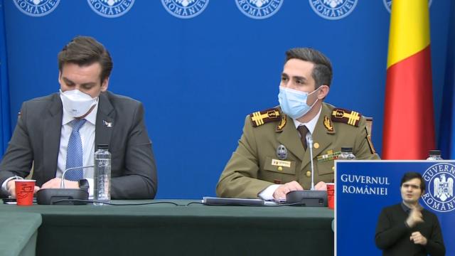 Valeriu Gheorghiță: Toate cele 3 vaccinuri folosite în România protejează aproape 100% împotriva Covid-19, cel puțin 1 an